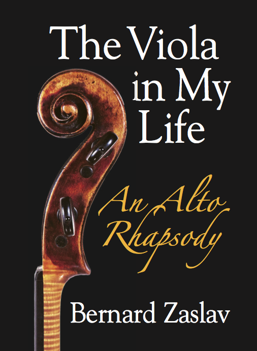 The Viola in My Life, An Alto Rhapsody, Cover